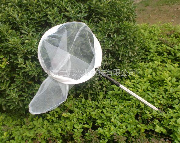 不锈钢捕虫网、加长昆虫采集网 金属杆捕虫网 捕虫网北京定做