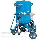 广州轴类普压式喷砂机 免酸洗去残渣喷砂机大型设备