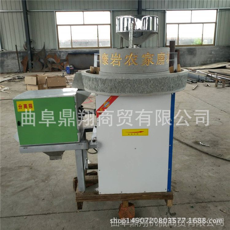 山东厂家加工定做各种规格电动石磨面粉机 石盘式小麦面粉电动石