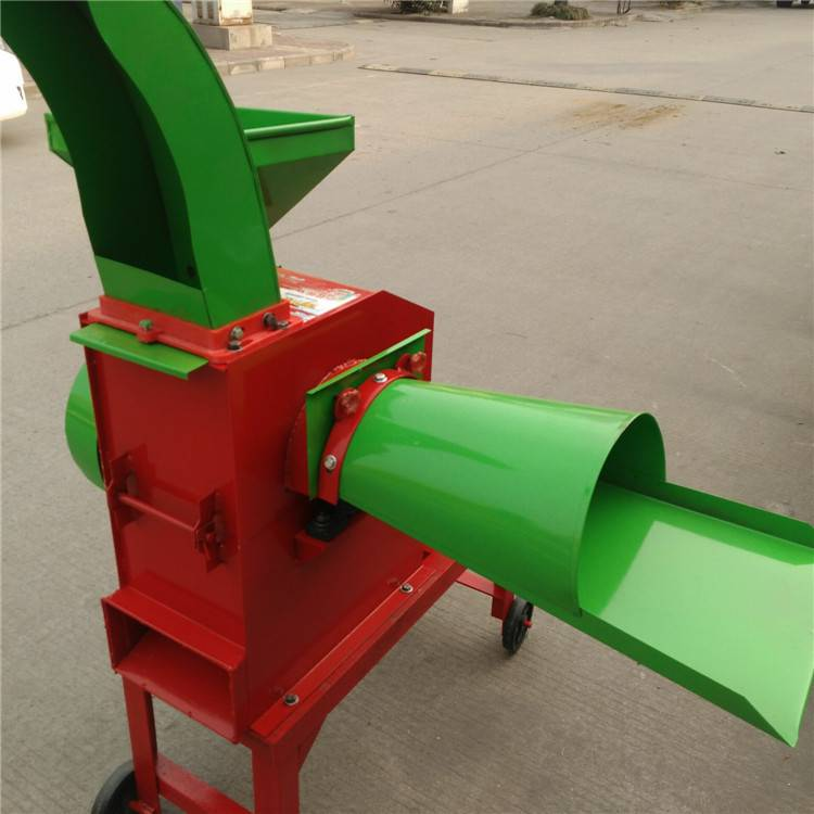 沙克龙锤片式粉碎机 玉米秸环保粉碎机