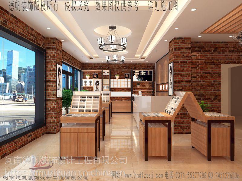 湖南株洲眼镜店设计装修公司 眼镜展柜制作 眼镜柜台制作