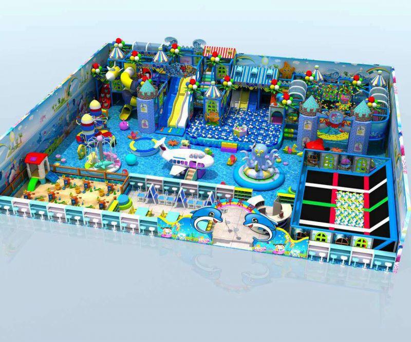 大型儿童主题乐园室内淘气堡新乐士欢乐城堡设备