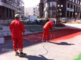 竹溪县 工程材料 蓝色路面涂层生产厂家