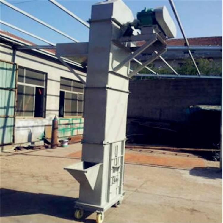 徐州市高粱用斗式提升机 兴运料罐用垂直斗式提升机
