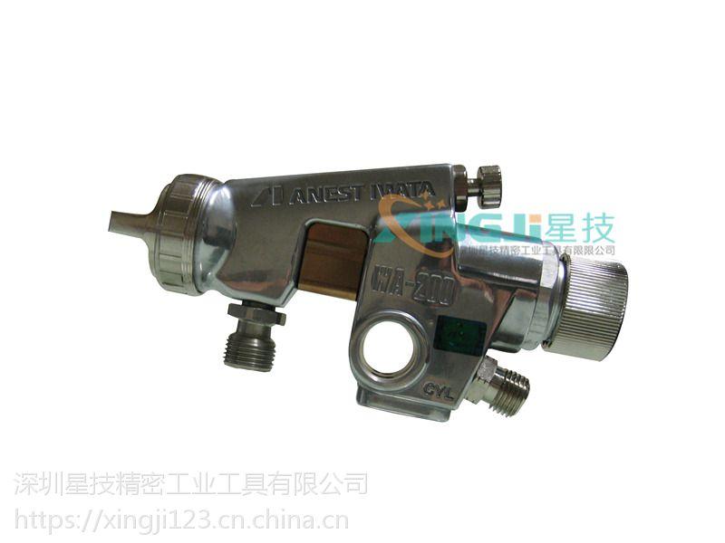 日本岩田wa-200陶瓷压送式喷枪自动喷枪