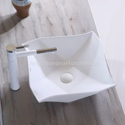台上欧式清新个性新款创意陶瓷洗手洗脸艺术盆