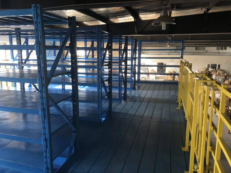 三层钢结构平台交付使用 阁楼式节约空间