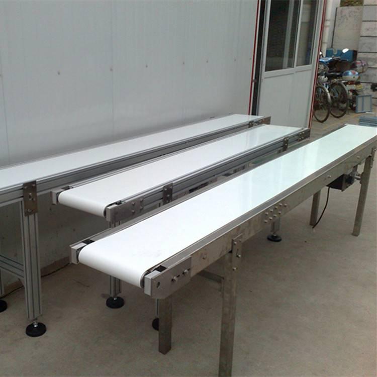 [都用]工业电动滚筒输送机 袋装食盐输送机 加工定做皮带机