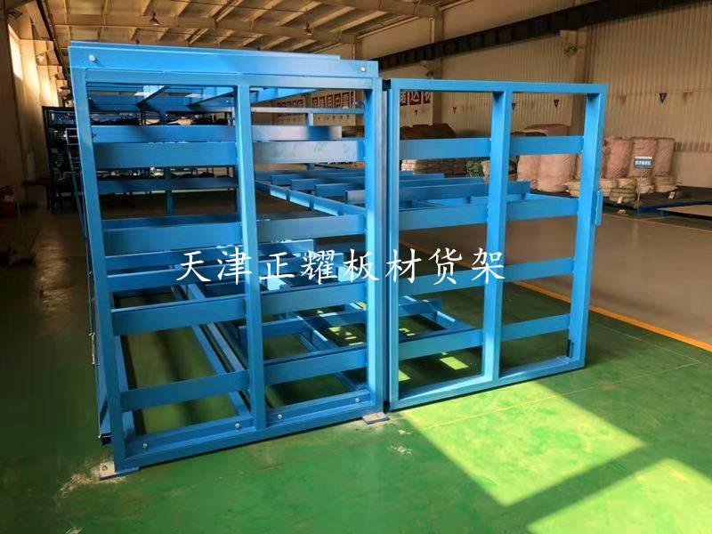 抽屉式铜板货架 存放铜板的货架