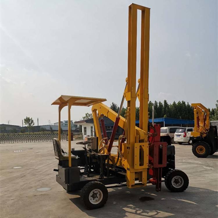 37KW高配置公路护栏打桩机 装载机改装护栏打桩机专业生产