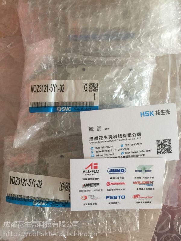 SMC 日本进口 VX230DZ1GZXB SMC 先导式2通电磁阀 成都特价