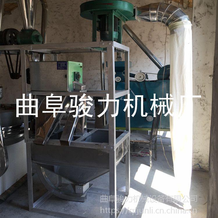 小麦磨面机 小型家用全自动面粉机 骏力促销 石磨面粉机