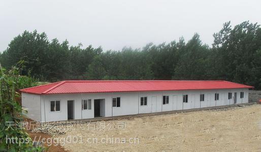 内蒙古赤峰供应工地用岩棉祈虹彩钢板活动房