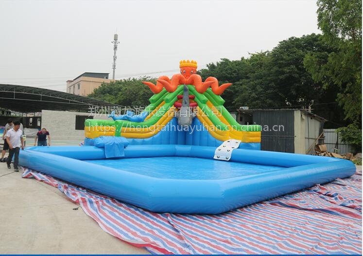 小型孩子游泳洗澡池价格 10*8的游泳池要多少钱 儿童广场充气水池生意好做