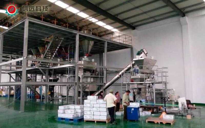 山东潍坊水溶肥生产线