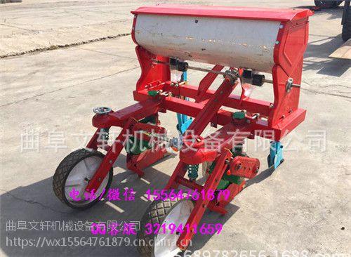 便携式手提大豆播种机文轩牌 谷子施肥播种机生产厂家