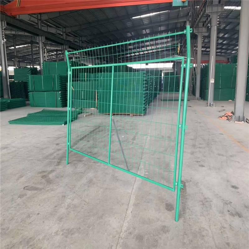 道路隔离护栏 临时护栏 铁丝网价格
