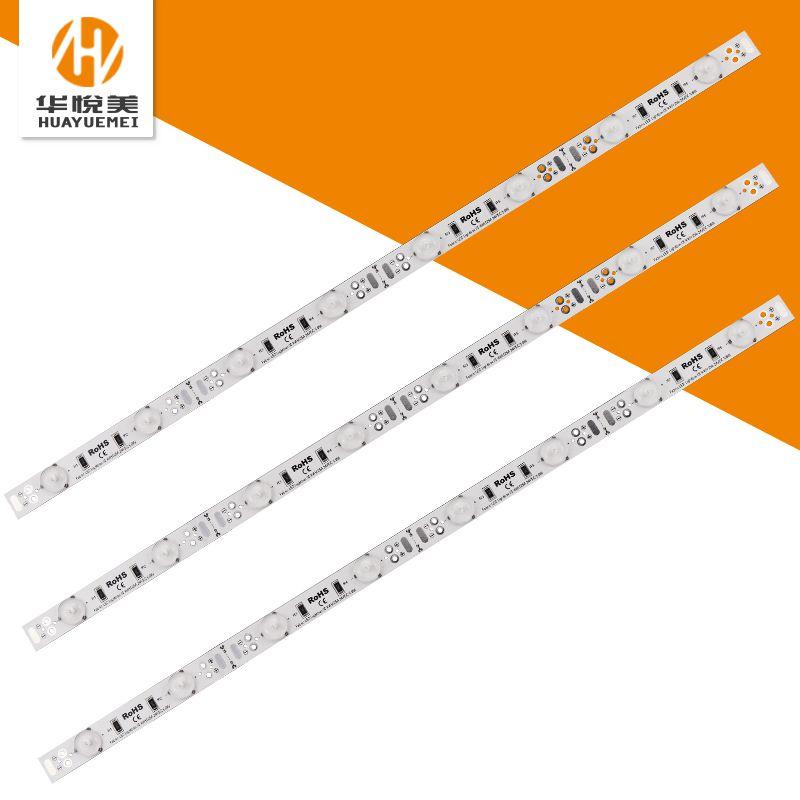 厂家批发58cm8珠led灯条24v软膜天花广告灯箱低压启动