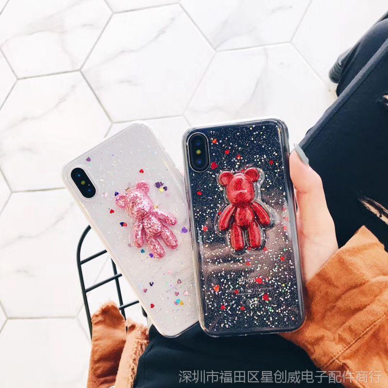 潮牌软壳8X苹果6手机壳iPhone7plus\/8女款6s