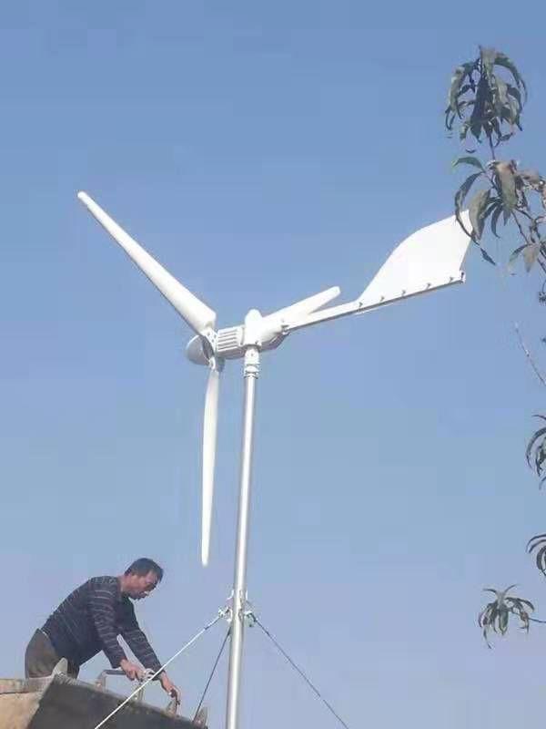山东晟成厂家直销风力发电机 足功率纯铜线1000w风力发电机