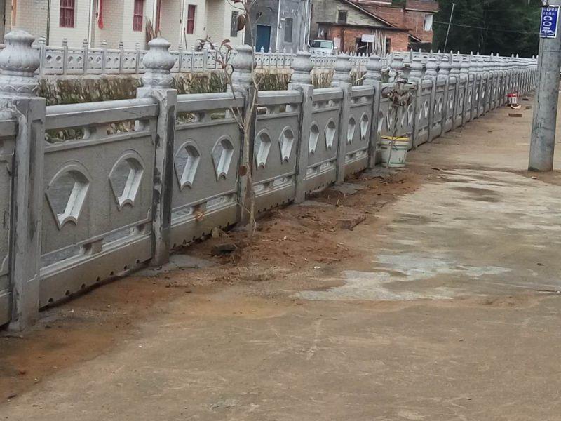 江西艺高景观水泥仿石栏杆护栏生产批发供应