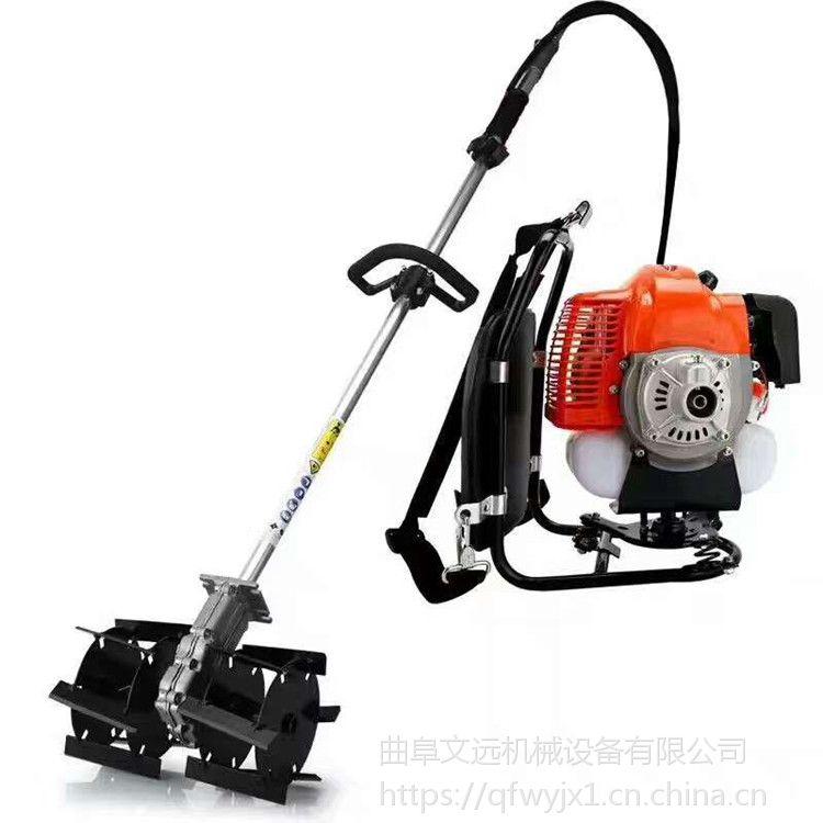 汽油背负式锄地机 热销小型背负式除草机
