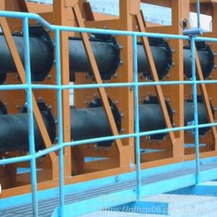 镇江管带输送机 可转弯运行移动式