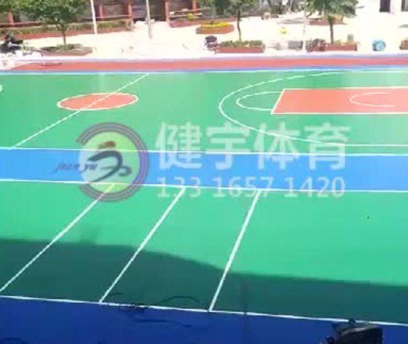 学校运动场建设工程_球场施工_塑胶跑道施工_深圳市健宇体育