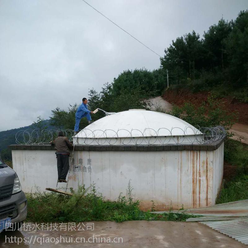 高强度、大型模压SMC玻璃钢水箱