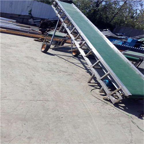 PVC流水线皮带机电动升降 食品专用输送机南阳
