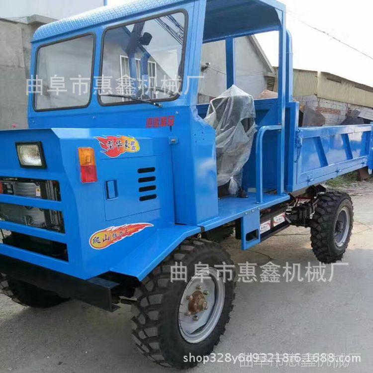 拉途安全运输车厂家 定做四缸农用四轮车 煤矿用四驱四轮运输车