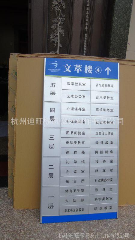 电梯口指示牌_【学校楼层索引牌 铝合金人员去向牌 人员牌电梯口指示牌订做 ...