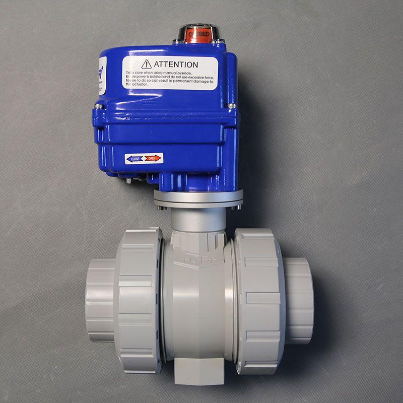 GF PPH TA-546型油令式电动球阀/承插焊/对焊/瑞士+GF+/EPDM/FKM