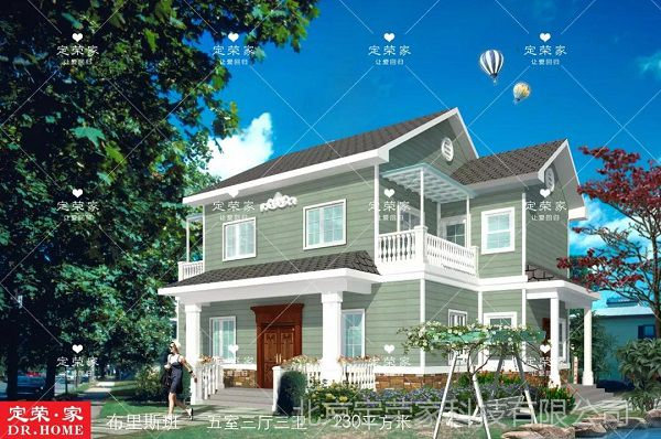 农村二层自建别墅,美观大气上档次,价格也不至于太贵