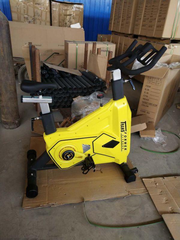 德兰库克踏板脚蹬磁控单车室内运动健身车健身房商用健身器材
