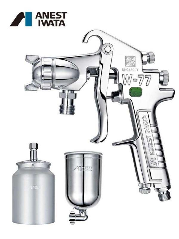 日本岩田喷枪W-77 气动工具喷漆枪家具面漆抢 汽车油漆喷枪
