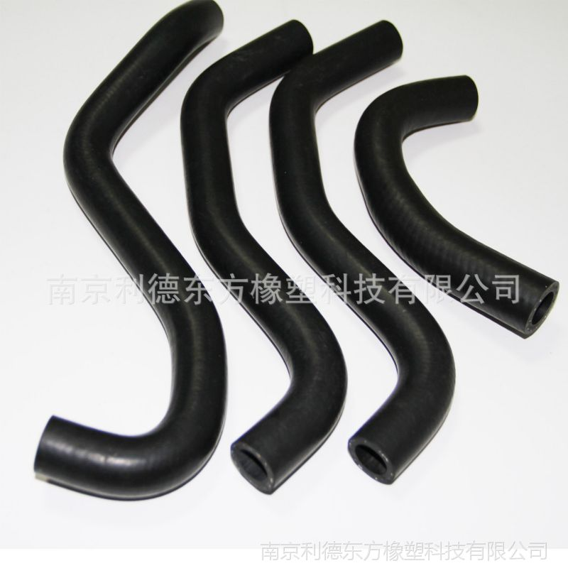 南京7425汽车配件输水软管空调系统橡胶管总成异型管 加工定制