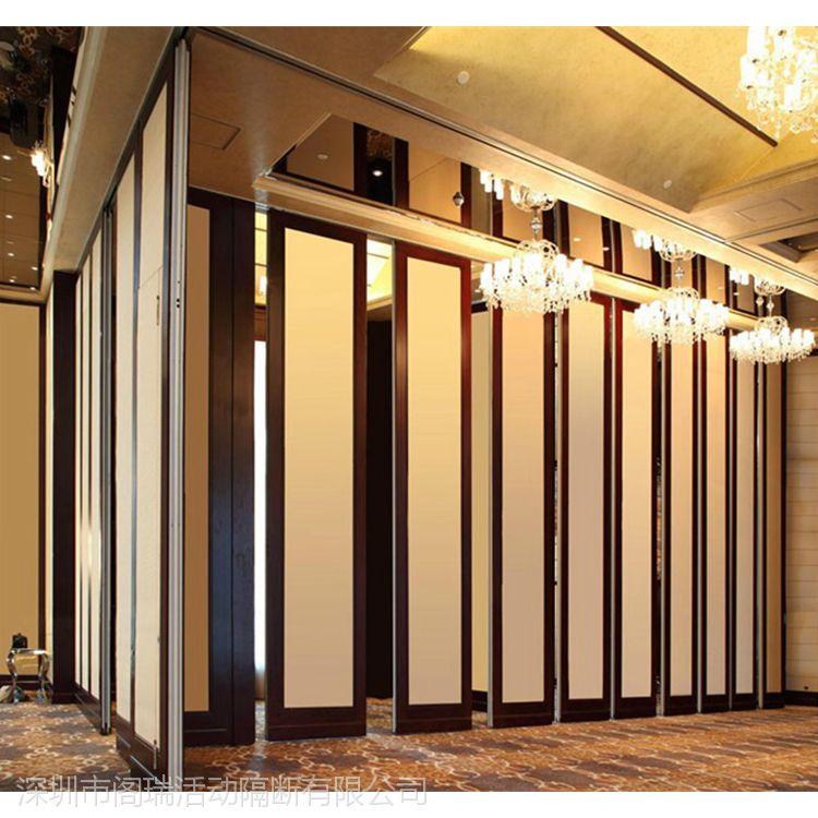 供应免漆板新中式屏风隔断 广东折叠酒店隔断墙