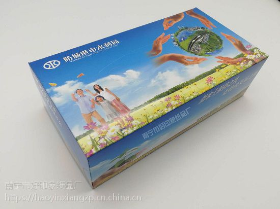 防城港广告纸巾订制 防城港抽纸订制 选好印象纸品厂