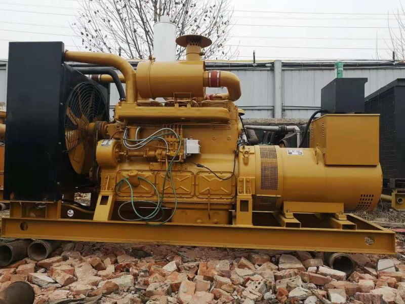 出售二手300KW柴油发电机组旧发电机组上柴九成新处理