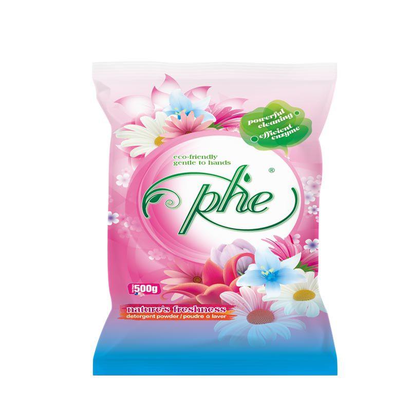 出口非洲500gPHE卷材洗衣粉