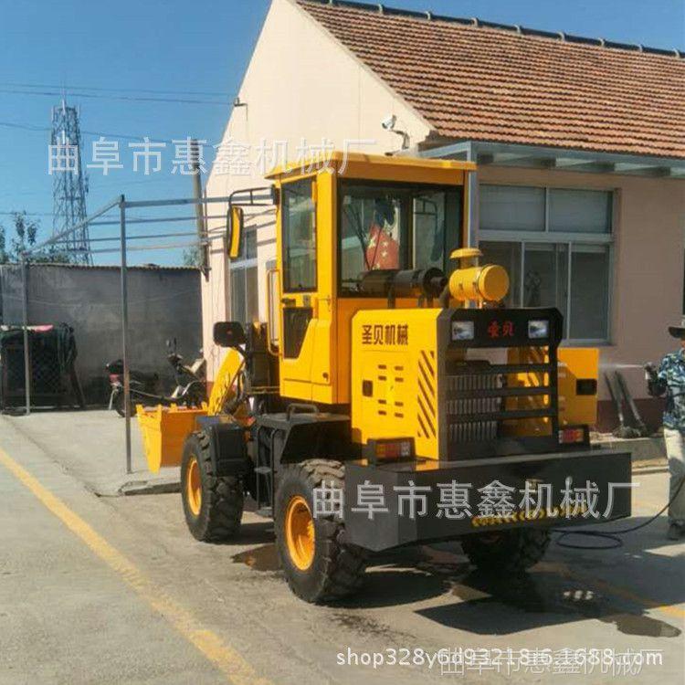 建筑砂石上料专用装载机 沙场石料厂专用小铲车 全新轮式装载机