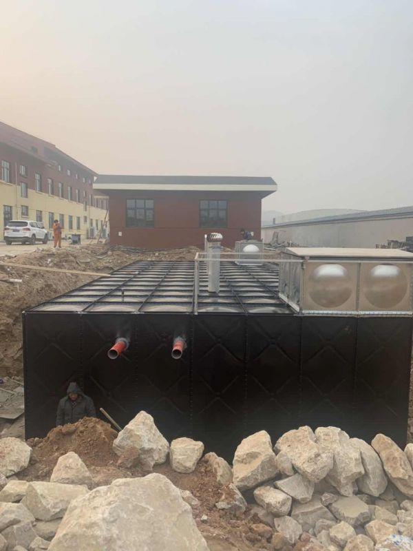 抗浮式地埋箱泵一体化安装视频