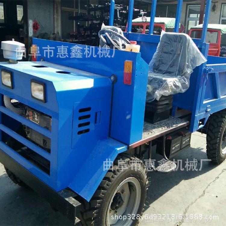 厂家25马力柴油四轮车 拉钢材平板四不像 高效农用自卸四不像