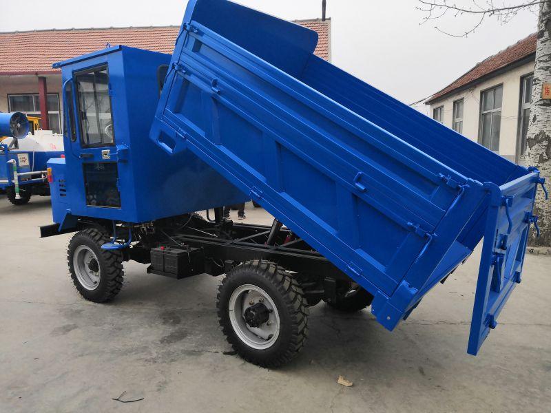 柴油25马力大功率四驱四轮车四缸运输车井下矿用四不像拖拉机
