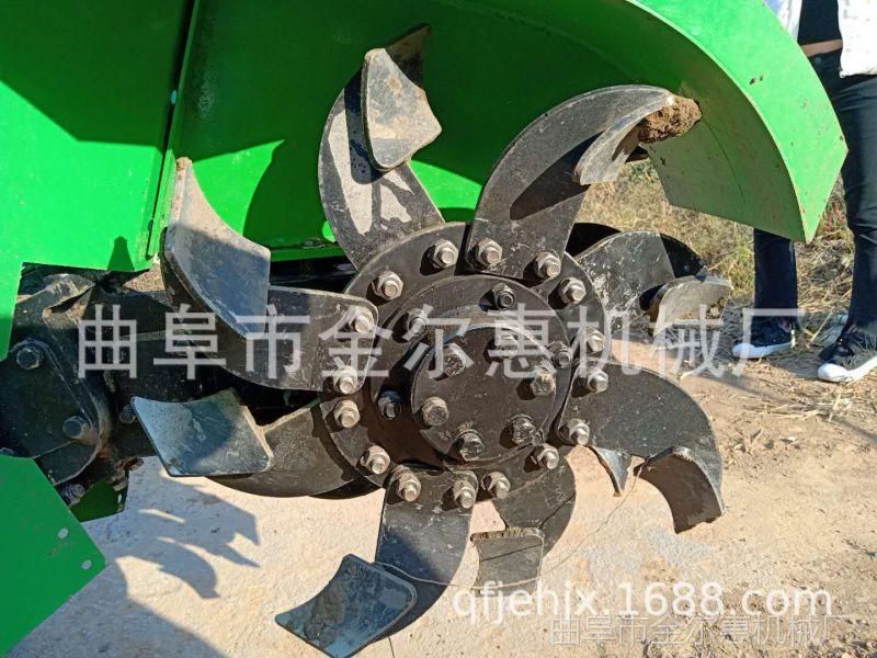 果园管理机 开沟施肥一体机自走式 现货供应履带式开沟机
