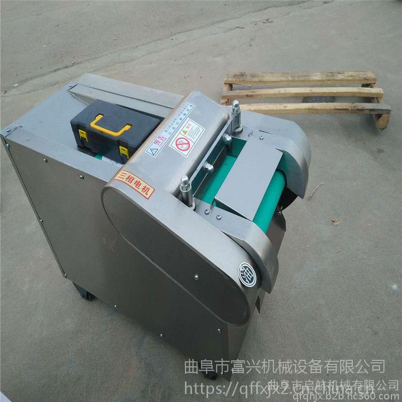 切菜机厂家 生产干豆腐海带切丝机 烟台省力切海带机械富兴