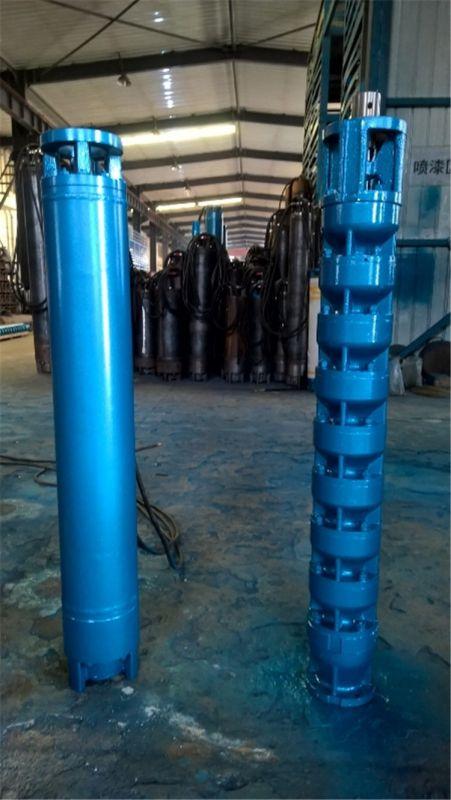 高扬程潜水泵_温泉井用243套管深井泵_热水小直径深井泵