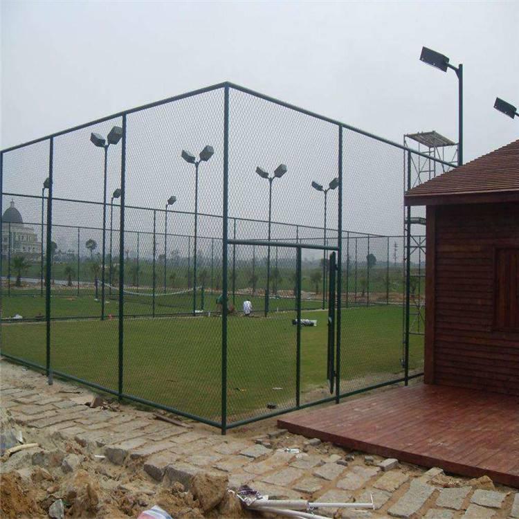 球场护栏网价格 防护网厂家 围网图