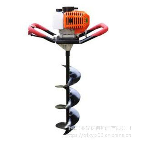自贡多功能手提式钻坑设备 轻便电启动汽油植树挖坑机现货
